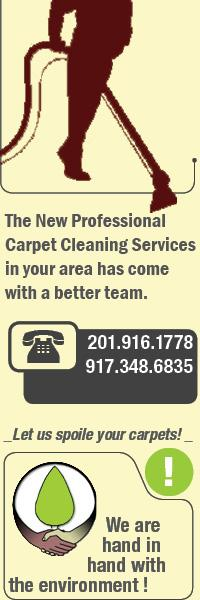 The new professional carpet cleaning services in your area has come with a better team serving North Jersey.